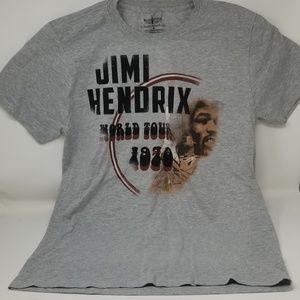 Jimi Hendrix 1969-70 Tour Tshirt Size M NWOT